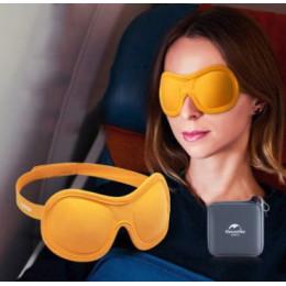 Премиум комплект в самолет 3D маска + футляр