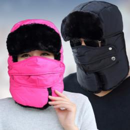 Шапка-ушанка  со съемной маской