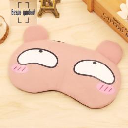 Комплект маска для сна+гелевая маска эмоции 2