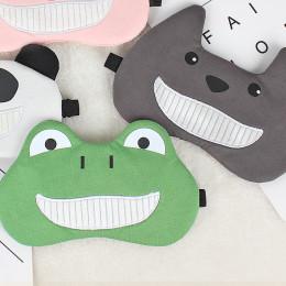 Комплект маска для сна+гелевая маска  улыбка