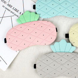 Комплект маска для сна+гелевая маска стеганная ананас