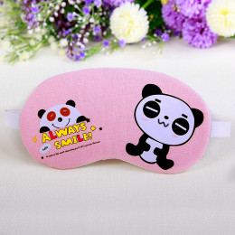 Комплект маска для сна+гелевая маска панда