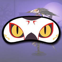 Комплект маска для сна+гелевая маска с принтом аниме 7