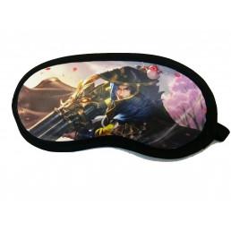 Комплект маска для сна+гелевая маска + беруши с принтом аниме 10