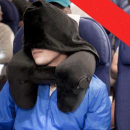 Надувная подушка-капюшон в самолет Флокс