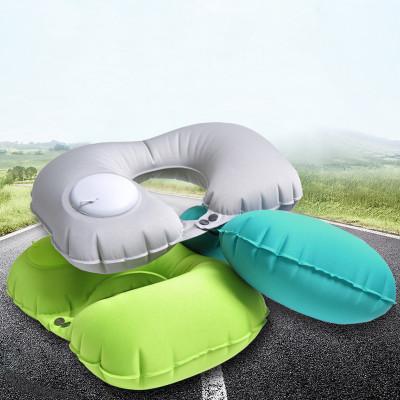 Надувная подушка со встроенным насосом Гербера