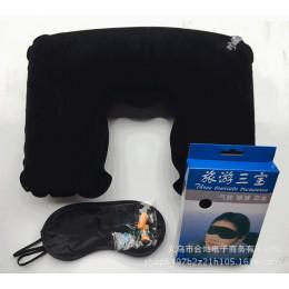 Комплект из надувной подушки, маски и берушей