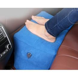 Двухслойная надувная подушка под ноги усиленная резина
