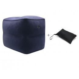 Двухслойная надувная подушка под ноги с сумкой-чехлом
