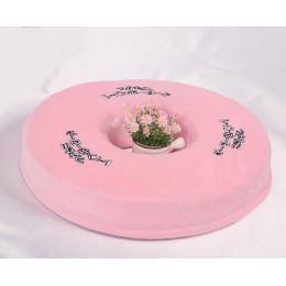 Подушка против геморроя профилактическая розовая
