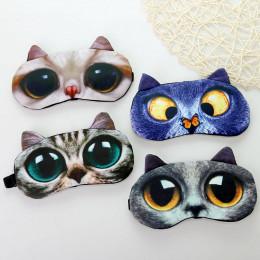 Комплект маска для сна+гелевая маска кошечка