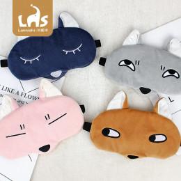 Комплект маска для сна+гелевая маска лисичка