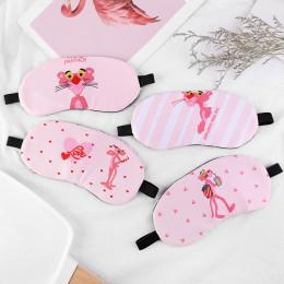 Комплект маска для глаз+гелевая маска розовая пантера