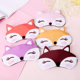 Комплект маска для сна +гелевая маска лисичка
